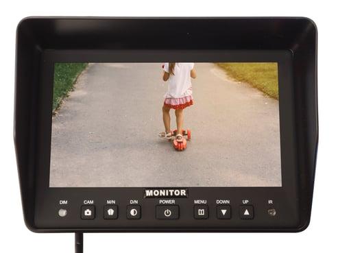 reversing camera screen